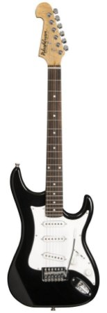 Guitarra Washburn Headstock Invertido S1B Preta