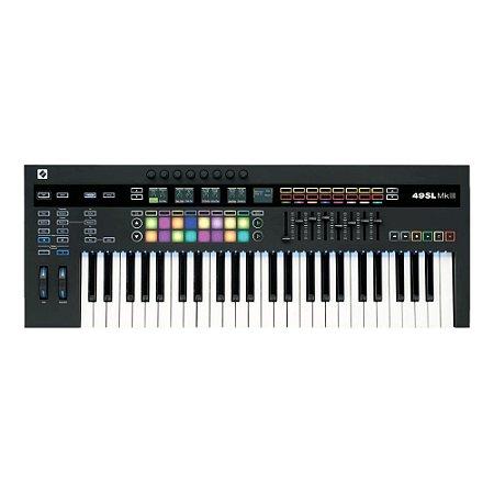 Teclado Controlador Novation SLMK3-49 USB/MIDI 49 Teclas