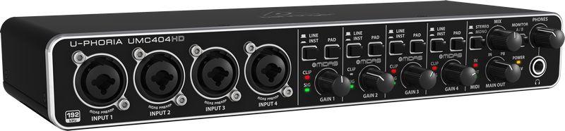 Interface De Áudio Behringer UMC404HD USB