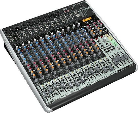 Mixer Mesa Com 24 canais Behringer QX2442USB Bivolt