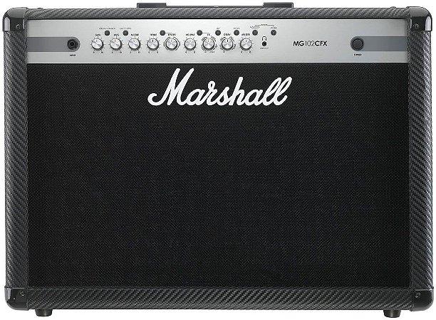 Amplificador para Guitarra Marshall MG102CFX B 100W