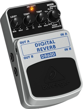 Pedal Para Guitarra Behringer DR600 Digital Reverb