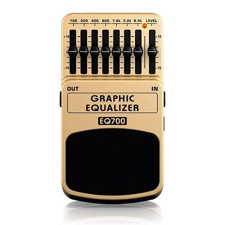 Pedal Para Guitarra Behringer EQ700 Graphic Equalizer