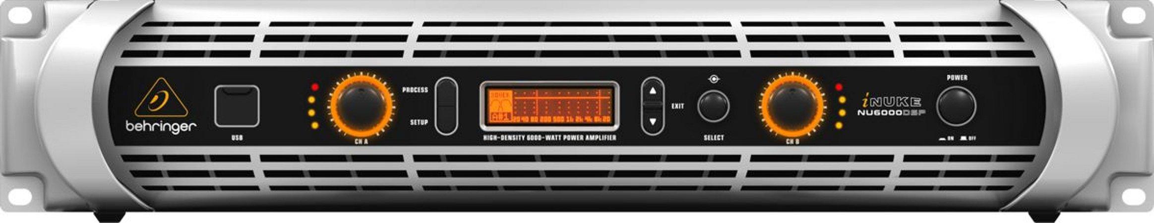 Amplificador de Potência Behringer Inuke DSP NU6000 6000W  DSP 220V