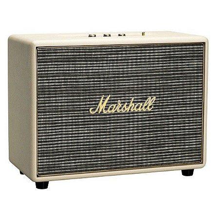 Caixa de som Marshall Woburn Bluetooth Cream 90W RMS
