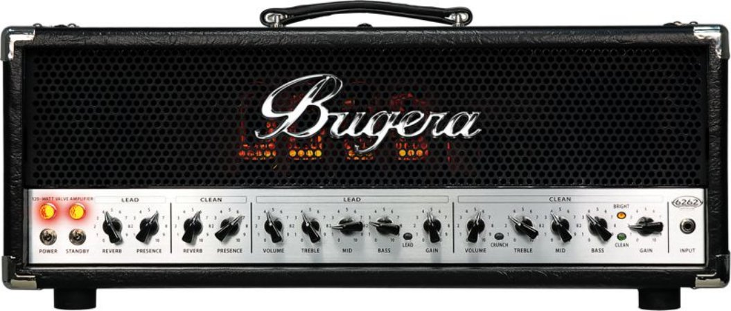 Cabeçote Valvulado para Guitarra Bugera 6262 INFINIUM 120W