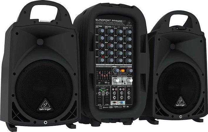 Caixa Acústica Behringer PPA500BT 110V 500W