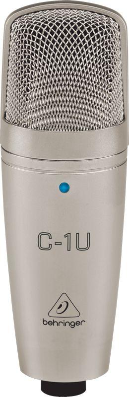Microfone Condensador Behringer C-1U Para Estudio