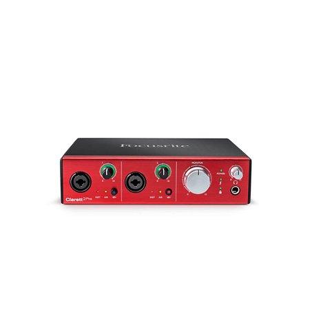 Interface de Áudio Focusrite Thunderbolt Clarett 2PRE 10/4
