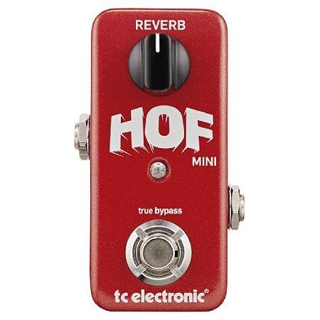Pedal de Efeitos TC Electronic Hof Mini Reverb