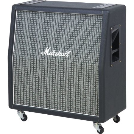 """Gabinete Angulado para Guitarra Marshall 1960AX E 4x12"""" 100W"""