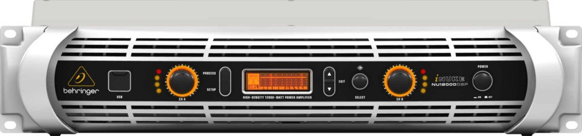 Amplificador de Potência Behringer  Inuke NU12000 DSP 220V