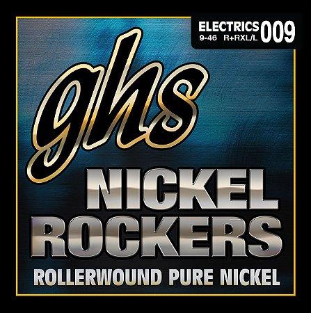 Encordoamento para Guitarra 6 Cordas GHS R+RXL (0.09)