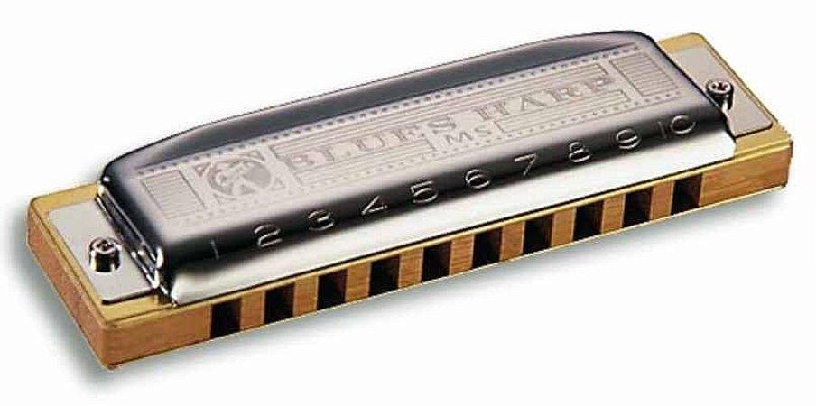 Gaita Hohner Blues Harp 532/20 MS D em Ré