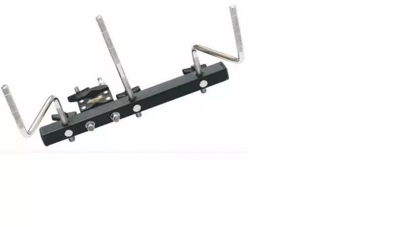 MINI RACK TA453 TORELLI 3 HASTES F3 PRETO
