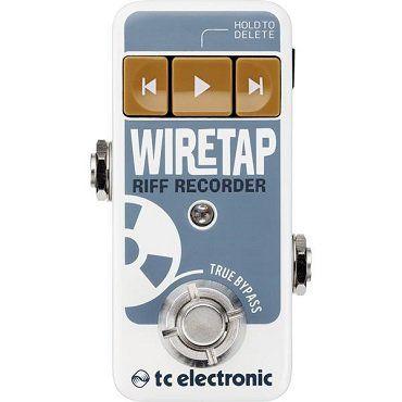 Pedal de Guitarra Tc Eletronic Wiretap Riff Recorder