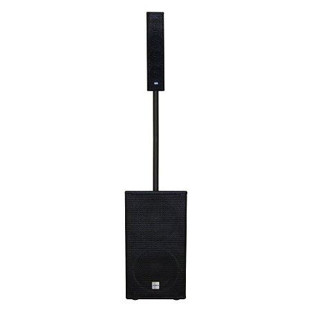 Sistema Amplificado DBR VA1800 Vertical Array Sub 700w Rms