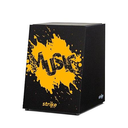 Cajon Acústico FSA Strike SK4053 Splash Esteira 12 Fios