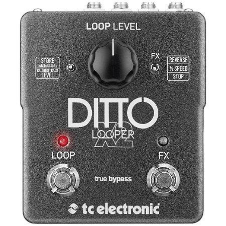 Pedal Ditto X2 Looper TC Eletronic