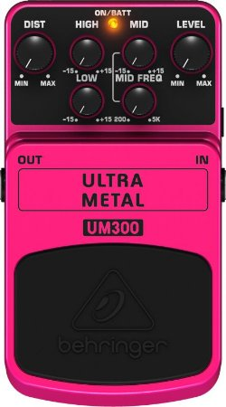 Pedal Para Guitarra Behringer Ultra Metal Um300