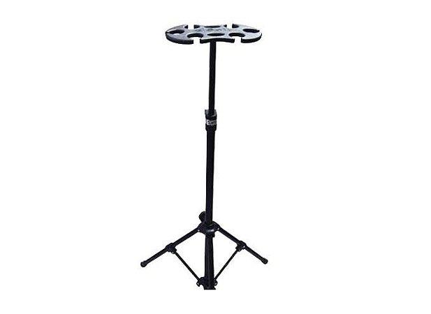 Suporte de Descanso Para 6 Microfones Saty PM-06
