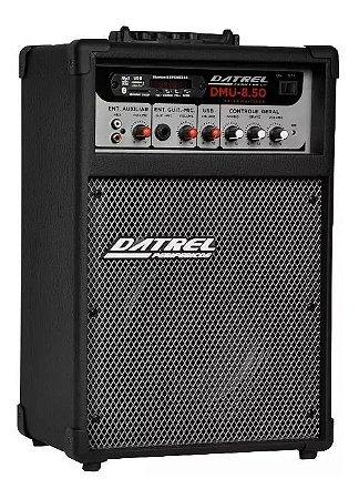 """Caixa Multiuso Amplificada Datrel 8"""" 35W Bluetooth DMU50 USB"""
