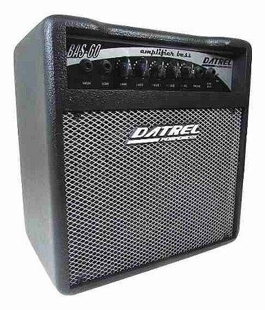 """Amplificador Cubo Para Baixo Datrel 8"""" 60W BAS60 Para Estudo"""