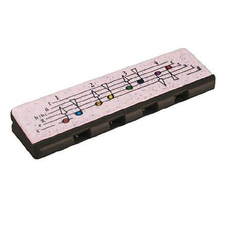 Gaita Harmonica Hohner Speedy Diatônica Preto e Branco C-DO