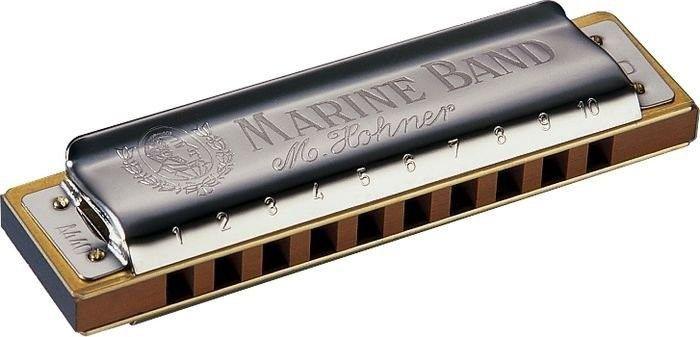 Gaita Harmonica Hohner Marine Band 1896/20 - BB (SI BEMOL)