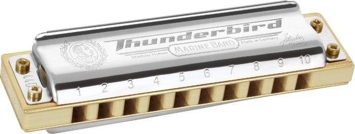 Gaita Harmonica Hohner Marine band ThunderBird LBB SI BEMOL