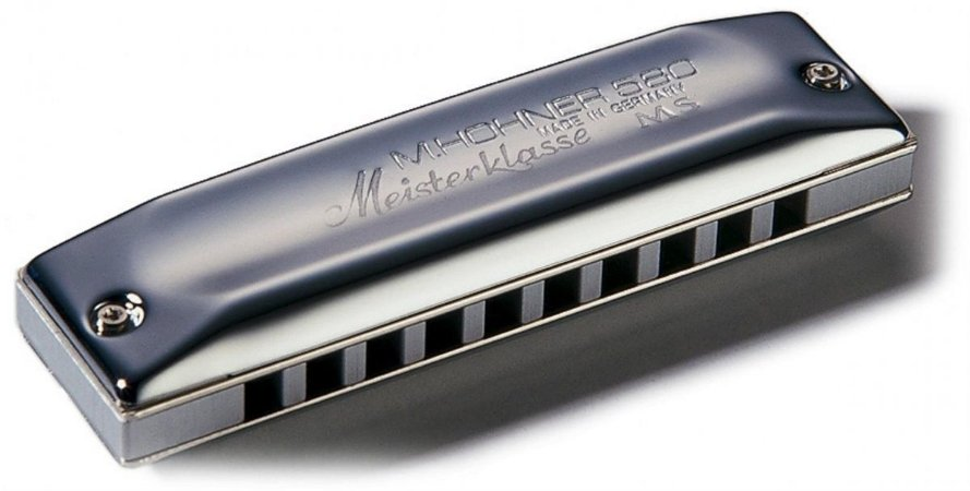 Gaita Harmonica Hohner Meisterklasse 580/20 - D (RE)