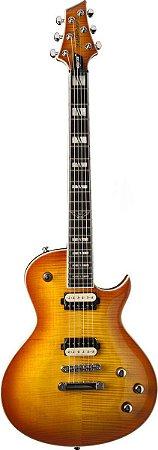 Guitarra Parallaxe Flame Honey Burst - PXL200FHB - Washburn