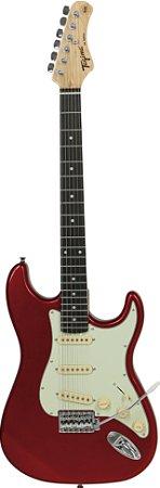 Guitarra Tagima Woodstock Strato Tg500 Vermelho Candy Apple