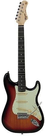 Guitarra Tagima Woodstock Strato Tg500 Sunburst
