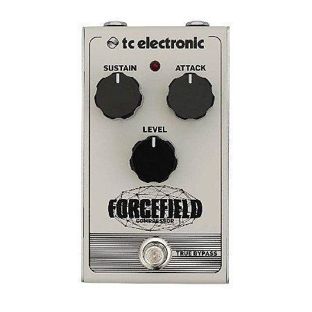 Pedal para Guitarra Forcefield Compressor - TC Electronic