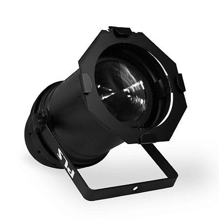 Refletor Led de Iluminação PLS Stage Par Cob Zoom 100 CW
