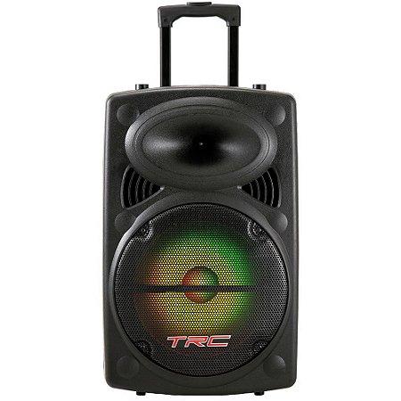 Caixa De Som Trc 436 350w Rms Amplificada Portátil Bluetooth