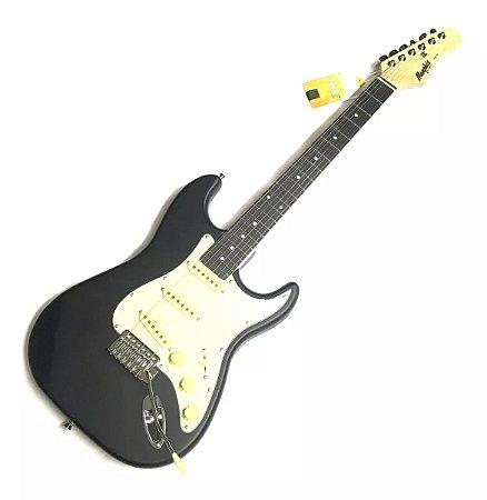 Guitarra Tagima Elétrica Strato Memphis MG30 Preto Satin