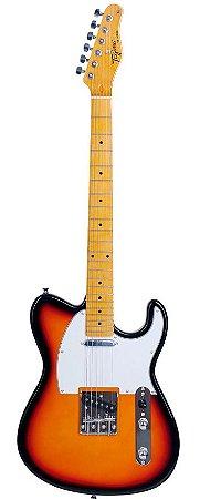 Guitarra Telecaster Tagima Elétrica TW55 Sunburst Woodstock