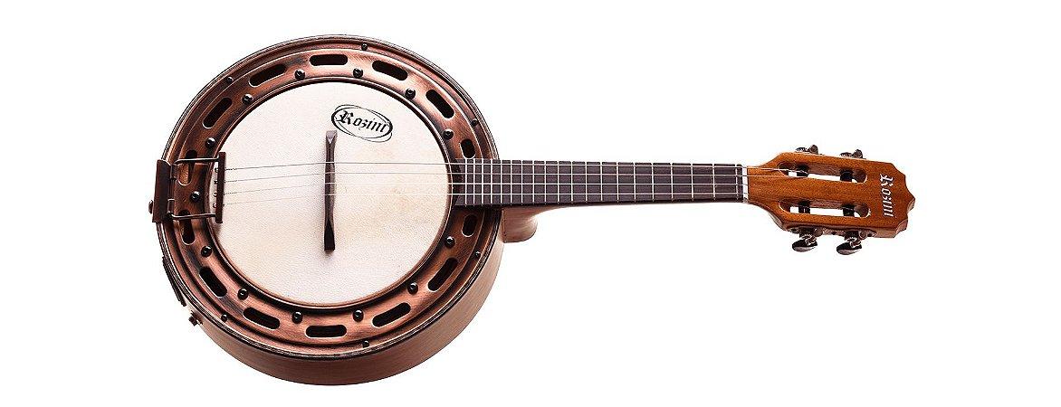 Banjo Rozini Ativo 2 Bandas Estilo Fosco RJ15ATF