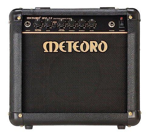 Amplificador Meteoro Para Guitarra Elétrica MG15 Cubo 15W
