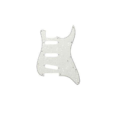 Escudo Guitarra Strato Hss Espelhado 1 Camada Dolphin