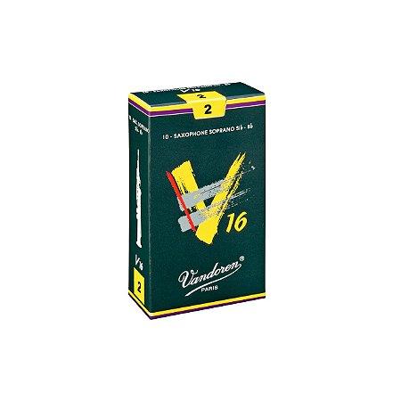 Palheta V16 2 P/sax Soprano Cx C/10 Sr712 Vandoren