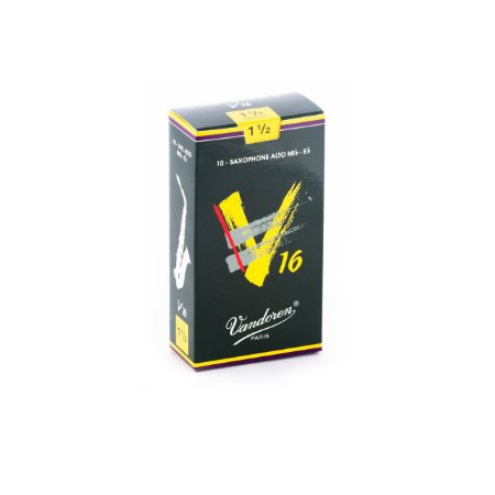 Palheta V16 1,5 P/sax Alto Cx C/10 Sr7015 Vandoren