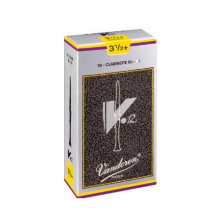 Palheta V.12 3,5 P/clarinete Sib Cx C/10 Cr1935 Vandoren