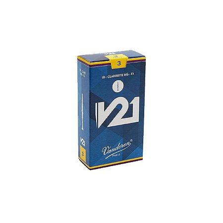 Palheta V21 3 P/clarinete Eb Cx C/10 Cr813 Vandoren