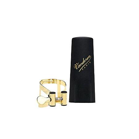 Bracadeira Sax Tenor Dourada Boquilha Plasti Lc58gp Vandoren