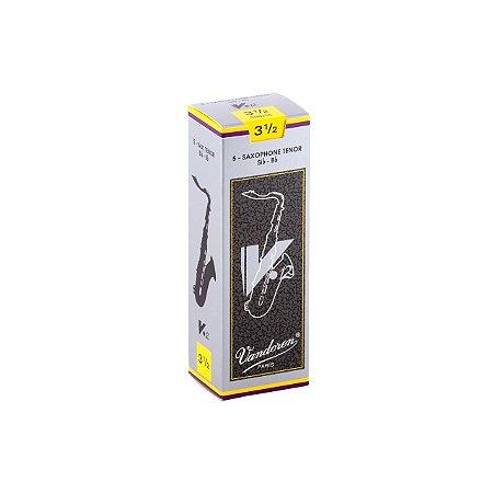 Palheta V.12 3,5 P/ Sax Tenor Cx C/5 Sr6235 Vandoren