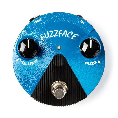 Pedal Silicon Fuzz Face Mini Distortion Ffm1 Dunlop