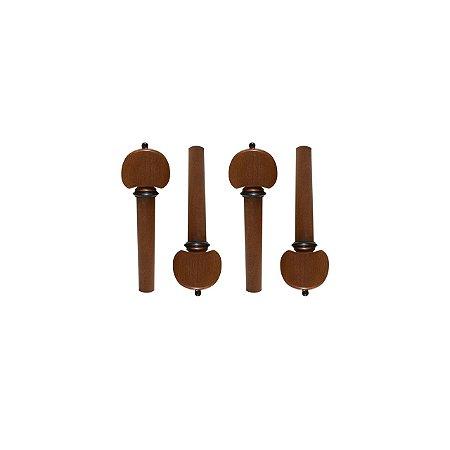 Cravelha violino 4/4 Boxwood Hill Colar Preto C/4 Dominante